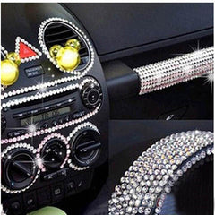 6mm Crystals Car DIY Stickers - BoardwalkBuy - 1