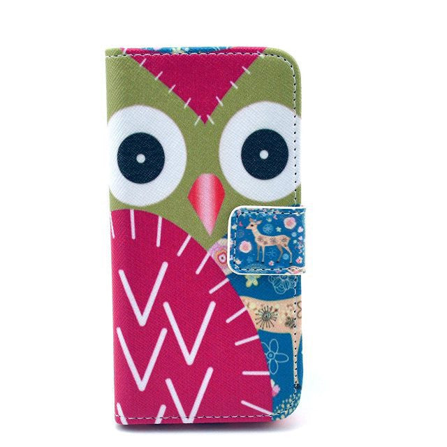 Painting Leather iPhone 5 Case wing - BoardwalkBuy - 1