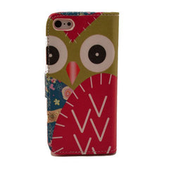 Painting Leather iPhone 5 Case wing - BoardwalkBuy - 2