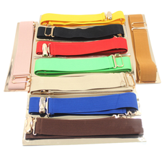 Metallic Wide Mirror Elastic Waist Belt - Assorted Colors - BoardwalkBuy - 7