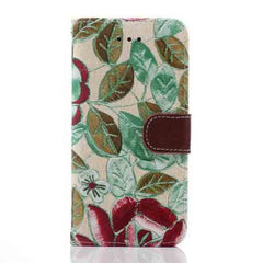 iPhone 6 Wallet Flowers Gyrosigma Case - BoardwalkBuy - 6