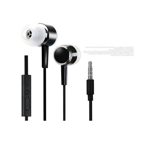 Metal Earphone Headphones 3.5MM - BoardwalkBuy - 1