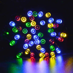 100 LED Solar-Powered Fairy Lights - 55 FT - BoardwalkBuy - 6