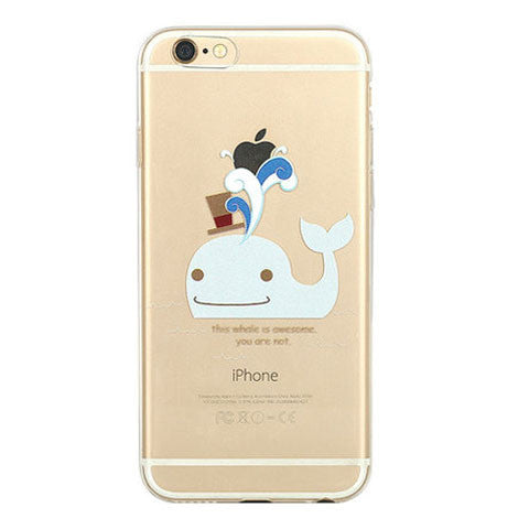 Dolphin Slim TPU Case for iPhone 6 4.7 - BoardwalkBuy