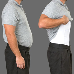 Men's Body Slimming Under-Shirt - BoardwalkBuy - 1