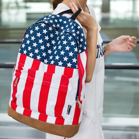 All American Stars & Stripes Backpack