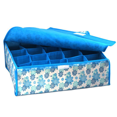 Storage Box for Bras, Underwears and Socks - Blue or Pink - BoardwalkBuy - 2