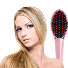 Ceramic Hair Straightener Brush - Option for Holster and Matte Lipstick - BoardwalkBuy - 8