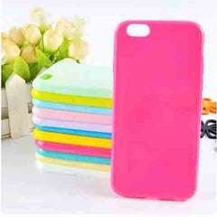 iPhone6 Solid Candy Color TPU Rubber Case - BoardwalkBuy - 1