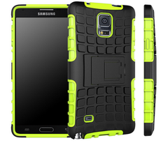 New Hybrid Armor Case for Samsung Note 4 - BoardwalkBuy - 2