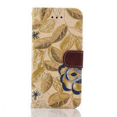 iPhone 6 Wallet Flowers Gyrosigma Case - BoardwalkBuy - 2
