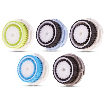 2-Pack Of Facial Brush Heads