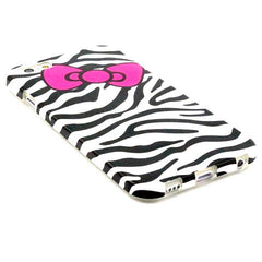 Zebra Bowknot TPU Case for iPhone 6 Plus - BoardwalkBuy - 2