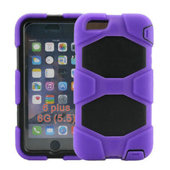 Hybrid Hard Stand Case for iPhone 6 Plus - BoardwalkBuy - 7