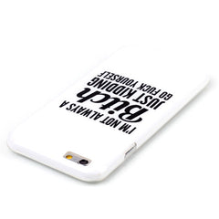 Bitch letter hard case for iphone 6 plus 5.5 inch - BoardwalkBuy - 2