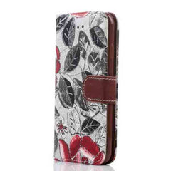 iPhone 6 Wallet Flowers Gyrosigma Case - BoardwalkBuy - 11