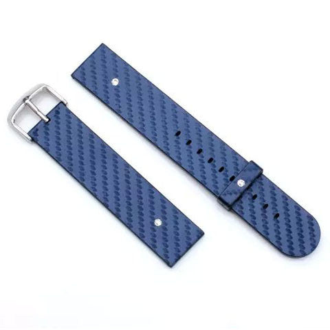 Dark Blue Leather Band for Apple Watch - BoardwalkBuy