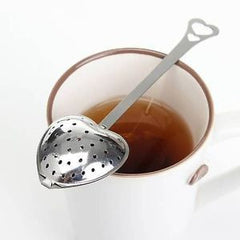 Heart Shaped Stainless Steel Tea Infuser Spoon - BoardwalkBuy - 1