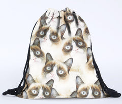 3D Printing Grumpy Cat Environmental Storage Bag