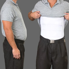 Men's Body Slimming Under-Shirt - BoardwalkBuy - 2