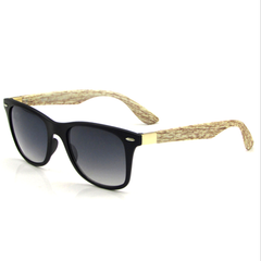 Unisex Bamboo Wooden Style Sunglasses - Assorted Colors - BoardwalkBuy - 2
