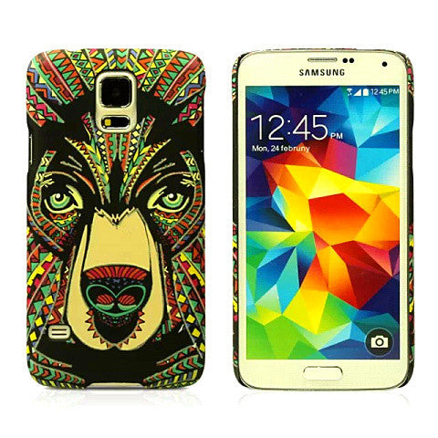 Brown Bear Luminous Case for Samsung S5