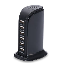 30-Watt 6-Port USB Charging Station - BoardwalkBuy - 6