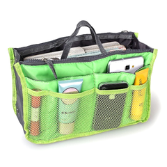 Slim Bag-in-Bag Purse Organizer - Assorted Color - BoardwalkBuy - 7