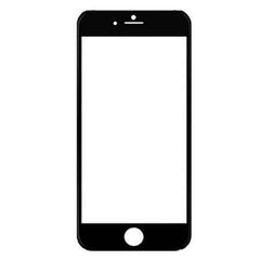 iPhone 6 Full Screen Design Edge to Edge HD Clear Ballistic Glass Screen Protector - BoardwalkBuy - 3