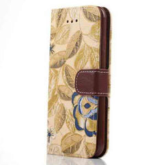 iPhone 6 Wallet Flowers Gyrosigma Case - BoardwalkBuy - 5