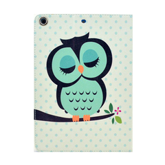 Sleeping Owl Leather Stand Case For iPad Air - BoardwalkBuy - 2