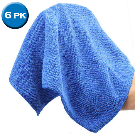 6 Pack: Microfiber Car-Drying Towels - BoardwalkBuy - 1