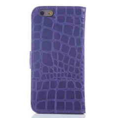 iPhone 6 Wallet Crocodile Leather Cases - BoardwalkBuy - 6
