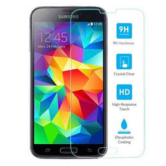 Samsung Galaxy S5 Tempered Glass Screen Protector Premium Crystal Clear High 9H Hardness - BoardwalkBuy - 3