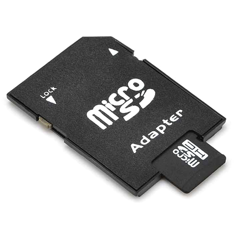 Micro Sd Memory Card And Sd Adapter - 16 Or 32Gb