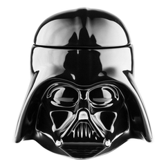 3D Star Wars Ceramic Mug With Removeable Lid - Darth Vader or Stormtrooper Styles Available - BoardwalkBuy - 3