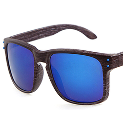 Stylish Wooden-Frame Sports Sunglasses - Assorted Colors - BoardwalkBuy - 2