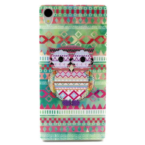 Cartoon TPU Case for Sony Xperia Z3 - BoardwalkBuy - 1