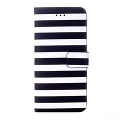 Stripe Leather Wallet Case for iPhone 6 4.7 - BoardwalkBuy - 5