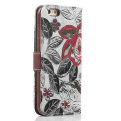 iPhone 6 Wallet Flowers Gyrosigma Case - BoardwalkBuy - 12
