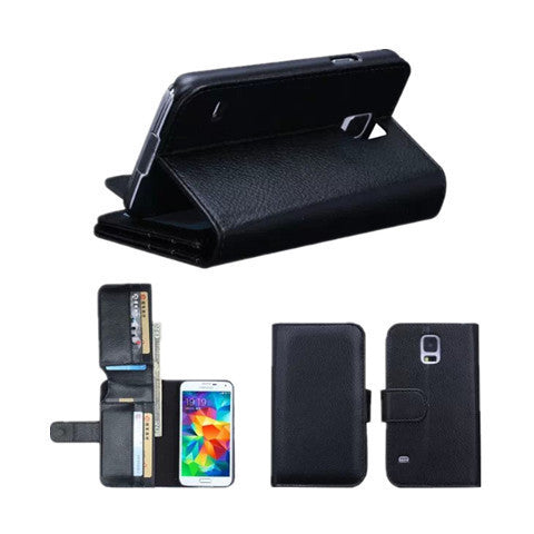 7 Cards Slot Wallet Case for Samsung S5 - BoardwalkBuy - 1