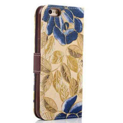 iPhone 6 Wallet Flowers Gyrosigma Case - BoardwalkBuy - 7