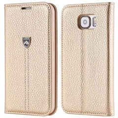 Luxury Wallet Leather Case for Samsung S6 - BoardwalkBuy - 4