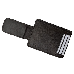 Luxuries Genuine Leather Magnetic Money Clip Wallet - BoardwalkBuy - 6