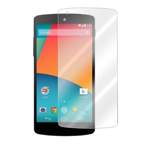 5X LG Google Nexus 5  Clear Screen Protector - BoardwalkBuy - 1