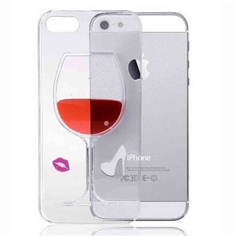 High-heeled Wine Cup Case for iPhone 6 Plus