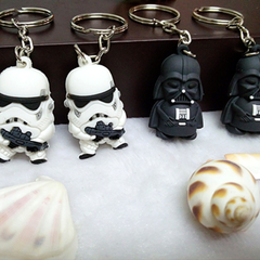 Mini Star Wars Action Figure Keychain - Darth Vader or Stormtrooper - BoardwalkBuy - 4