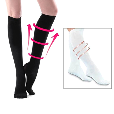 Knee High Slimming Compression Socks