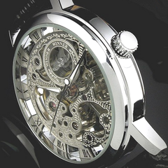 Winner Hand-Winding Skeleton Mechanical Watch - BoardwalkBuy - 2