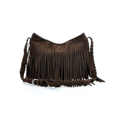 Fringed Cross-Body Bag - BoardwalkBuy - 4